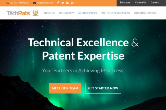TechPats Announces New Website Launch